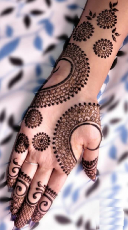100 Latest Mehndi Designs For 2019 Simple Arabic Bridal